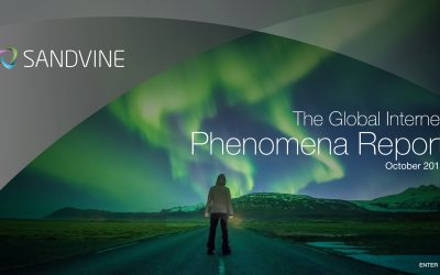 Sandvine: 1H2018 Global Internet Phenomena Report
