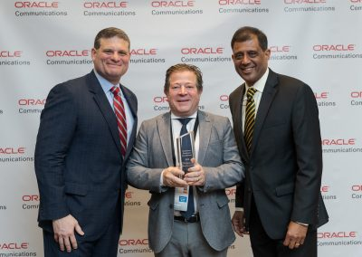 Datatronics recibe el precio Solutions Business Excellence for SBC Service Providers IMS Core for VoIP Oracle Communications
