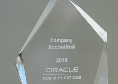 Oracle Awards at OIC18 NY in Company Specialization for EAGLE